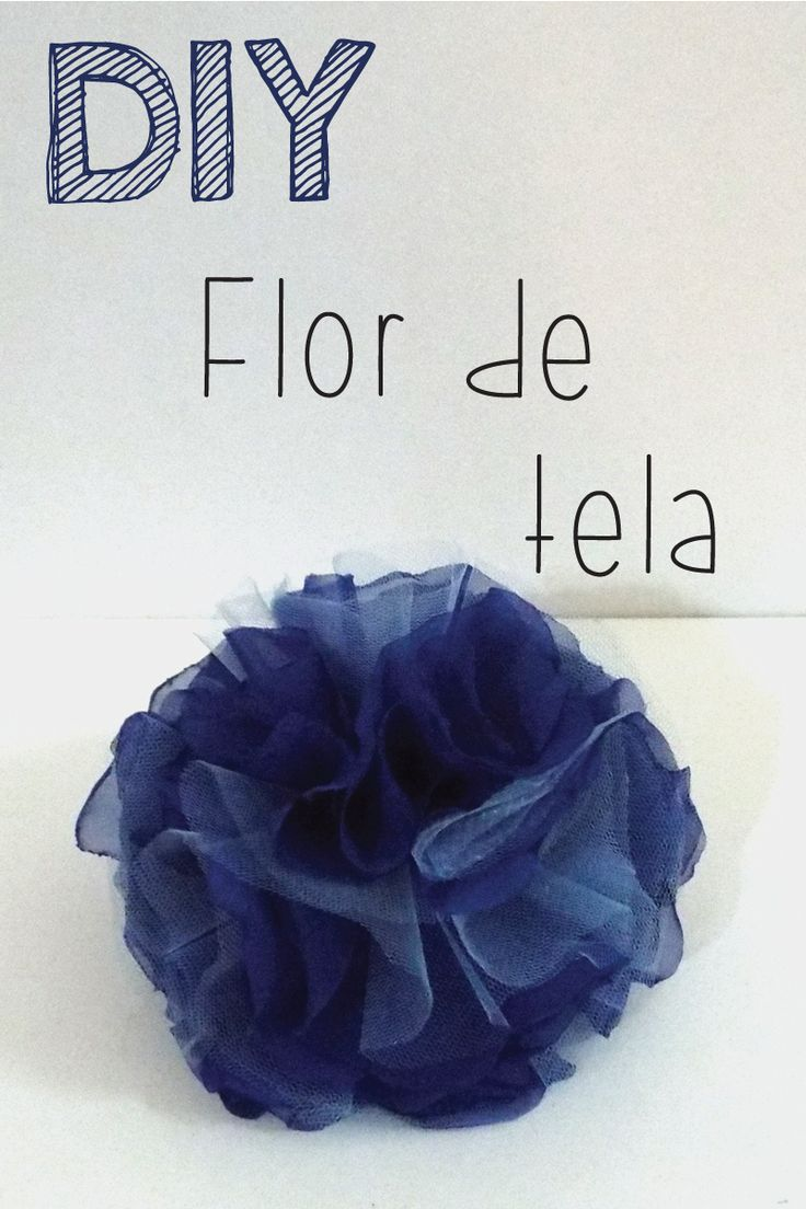 DIY - Flor De Tela Con Video. Tutorial paso a paso de este accesorio so Carrie | Me Compre Un Buda