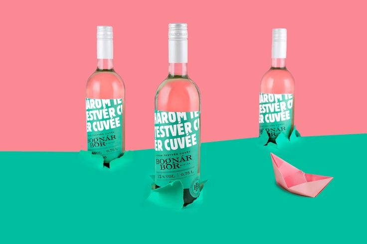 Bognár Bor Wine - Graphic Design - Logo, Packaging, Labels, Poster, Photography, Bold, Bright, Colors, Youthful, Modern