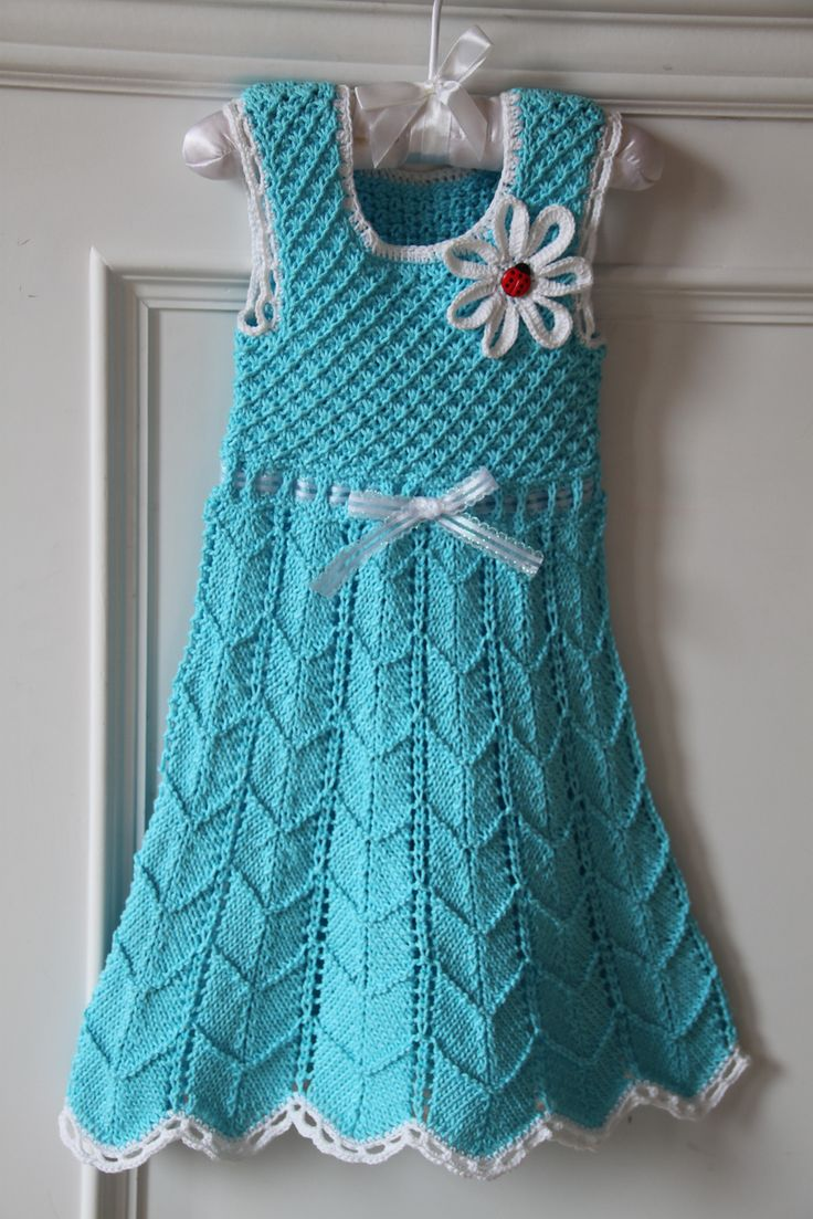 128 best Crochet and knitted kids dresses images on Pinterest ...