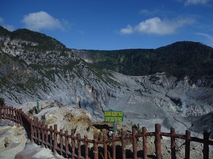 Tangkuban Parahu Mount, Lembang, West java.