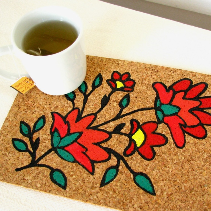 50 Best Painted Placemats Images On Pinterest Craft