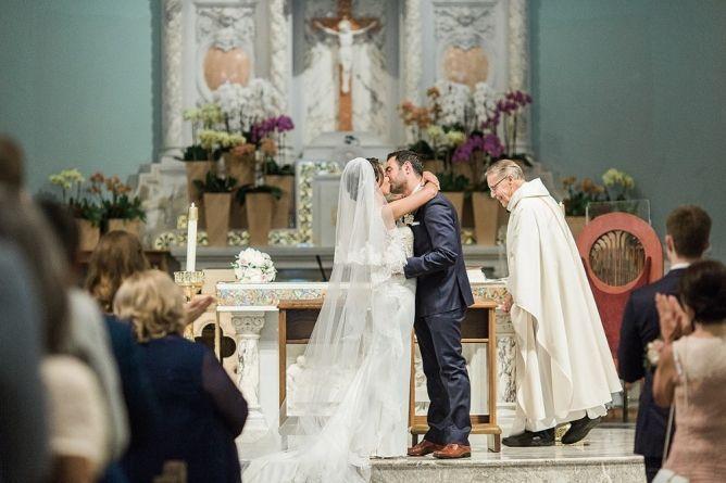 St. Monica Catholic Church Wedding