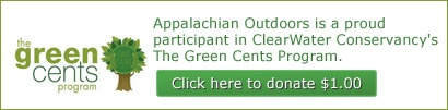 Read the Appalachian Outdoors #eco statement which pledges our store's support for #green initiatives and #environmentally friendly business practices.