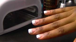 Uv Gel Nail Tutorials (Do Your Nails At home), via YouTube.