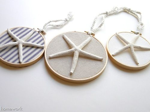 homework: today's assignment - be inspired {creative inspiration for home and life}: Etceteras: summer starfish decor