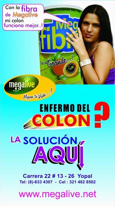 Con la FIBRA DE MEGALIVE tu colon FUNCIONA mejor.. - CustomersPlus4u.com