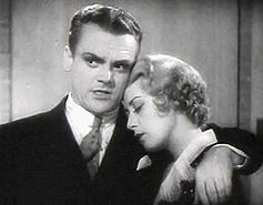 James Cagney and Joan Blondell in Footlight Parade (1933), a Warner Bros. Film.