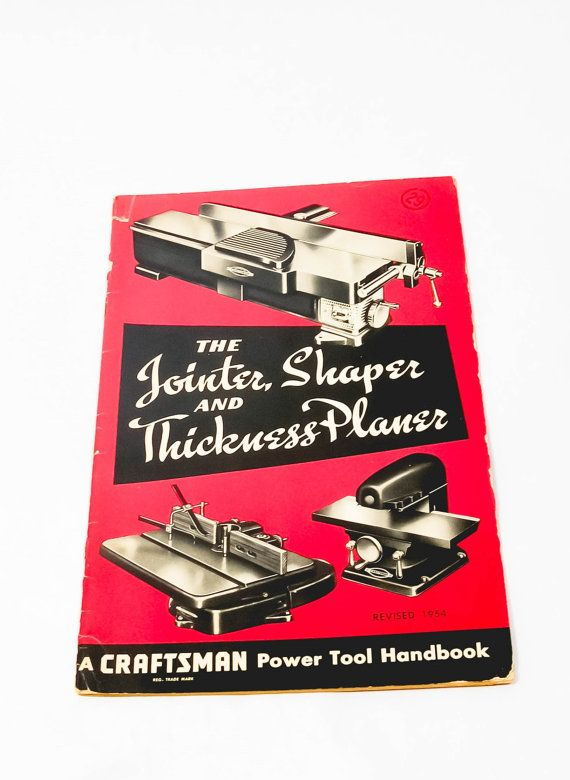 Vintage Craftsman Tools Operators Manual by LittleRiverVintage