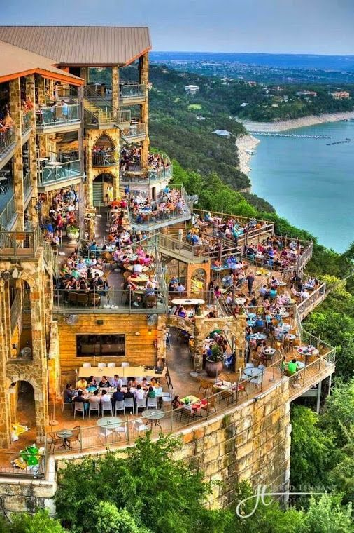 Lake Travis, Austin, TX - we ate here.