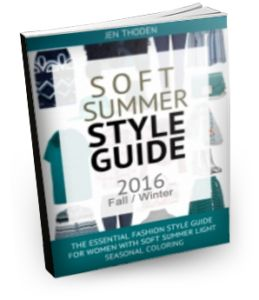 2016 Soft Summer Light Style Guide (Fall/Winter Edition)