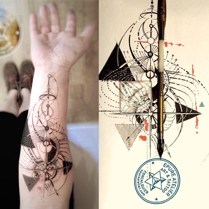 Géométries et symboles pour Amélie » Épure