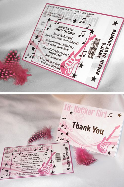 27 best Rock n Roll images on Pinterest Rock n roll, Birthday - invitations that look like concert tickets