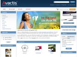 Avactis Shopping Cart now on CNET