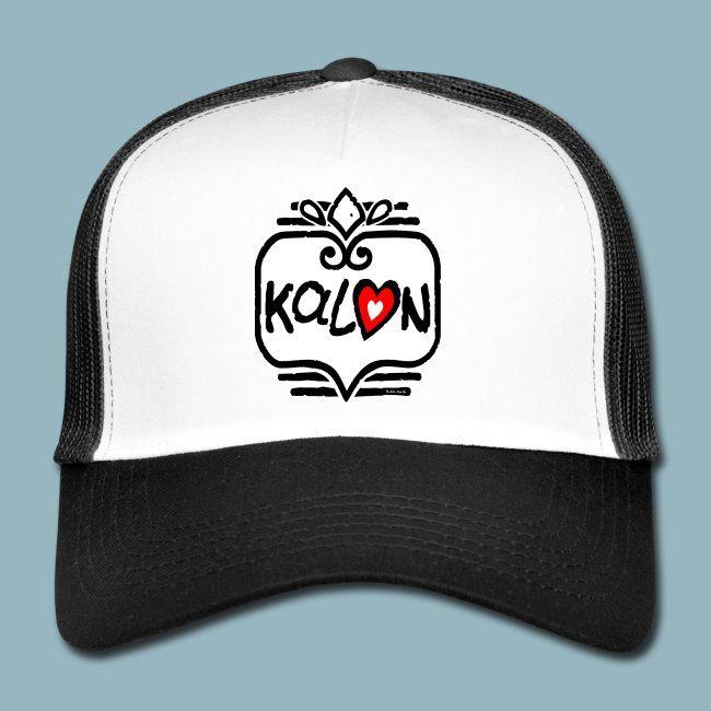 Kalon Coeur De Breton Trucker Cap Casquette Trucker Casquette Symbole Amour