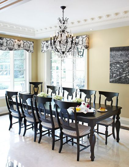 Soon To Be My Dining Room Decor   Traditional   Traditional   Dining Room    Toronto   PAULINAu0027S INTERIOR DESIGN Muted Yellow Walls, Brown Black  Furniture Part 7