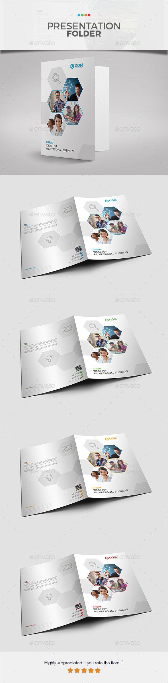 The Best Presentation Folders Images On Pinterest Presentation - Fresh presentation folder template psd design