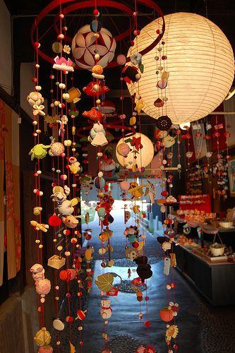 Japanese craft. Tsurushibina used for Hina Matsuri............