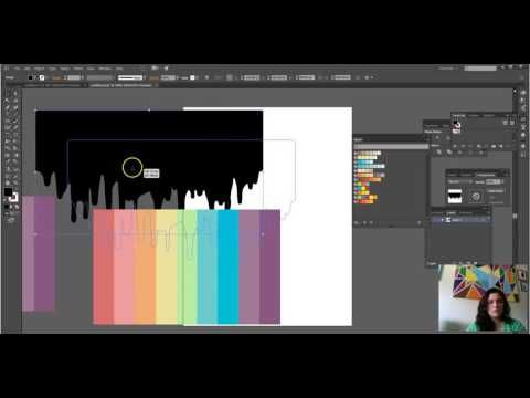 Simple Adobe Illustrator Paint Drip Project Tutorial