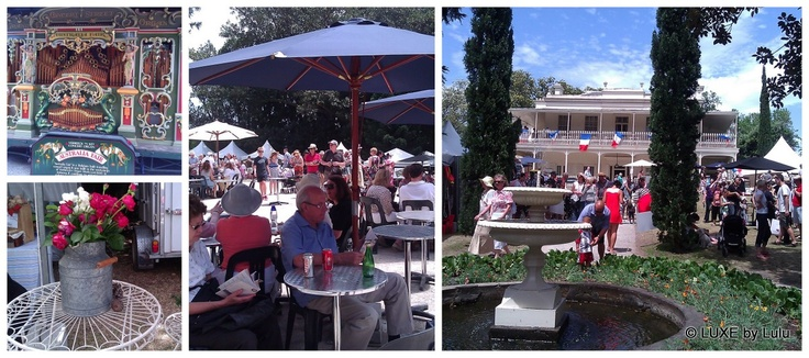 A little bit of France in Melbourne... Melbourne French Festival (Paris to Provence) at Como House #food #wine #France