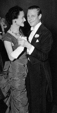 Wallis Simpson and Prince David