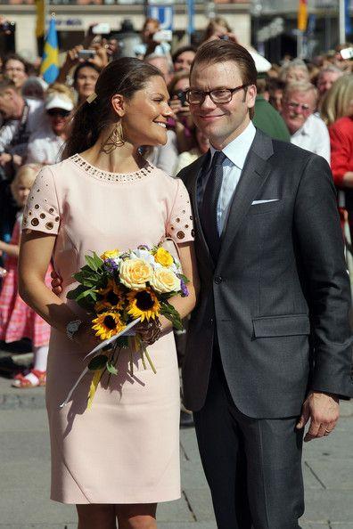 Princess Victoria Photos - HRH Crown Princess Victoria Of Sweden And Prince Daniel On Germany Visit - Day 1 - Zimbio