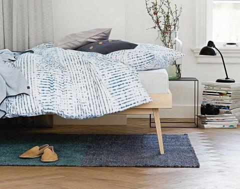 Neue Betten beherzt testen