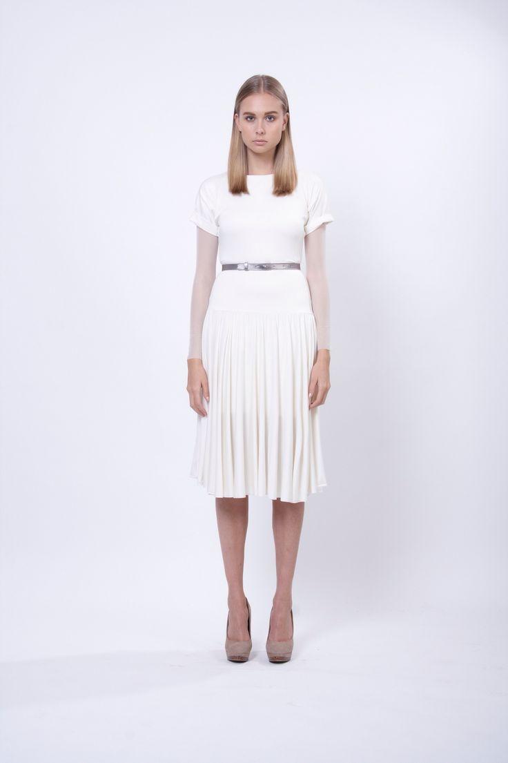 jersey dress, design Lucie Kutálková, LEEDA store