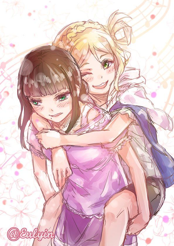Love live sunshine Mari and Dia