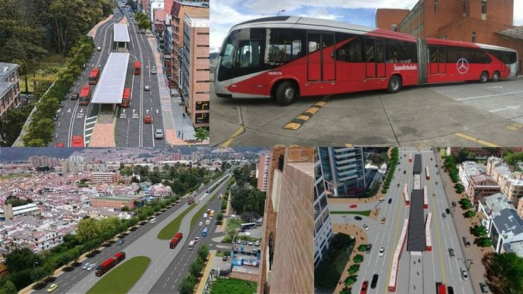Así se verá  la nueva troncal de TransMilenio  de la carrera séptima Bogotá