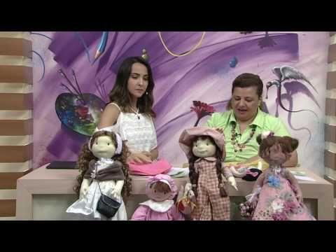 Mulher.com - 22/12/2016 - Boneca na bolsa - Vivi Prado PT2 - YouTube