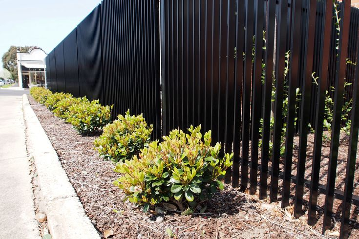 Black Aluminium Fence