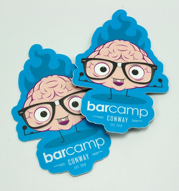 Barcamp Conway Stickers