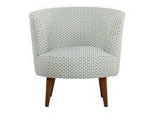 Lulu Scoop Chair, Honeycomb Weave Cotton Mix