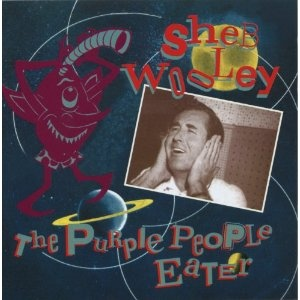 One of my favorite songs!  It was a one-eyed, one-horned, flying purple people eater!!