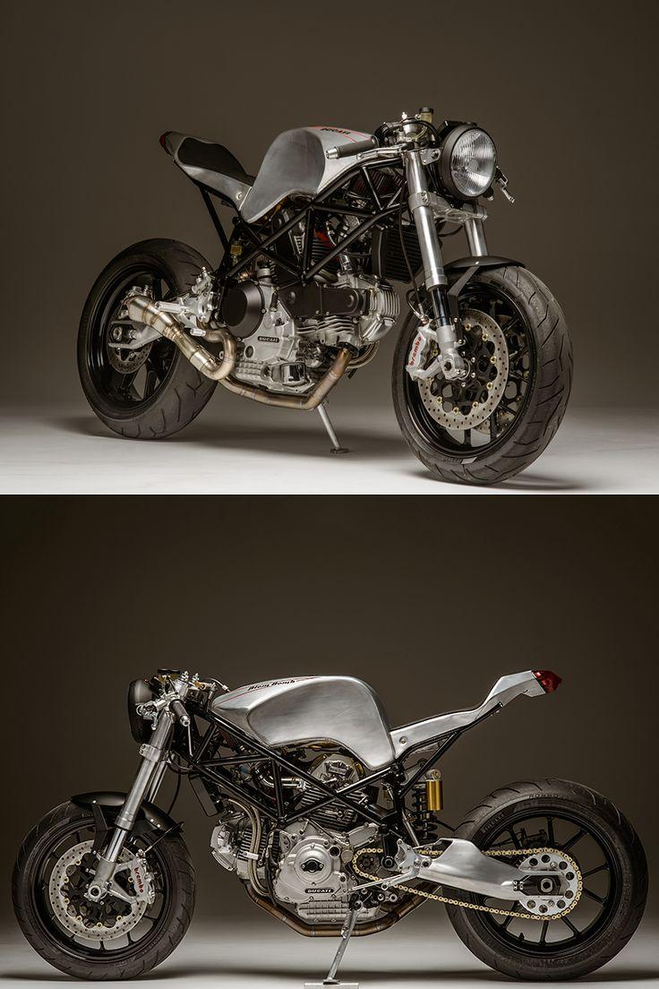Ducati 900SS Custom By Atom Bomb