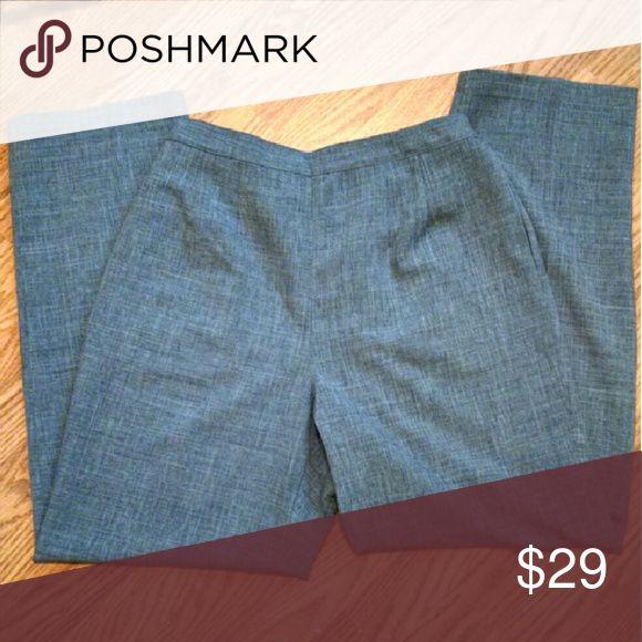 NWT! Erika Dress Slacks Light gray/blue dress pants with elastic in back. Erika Pants Trousers