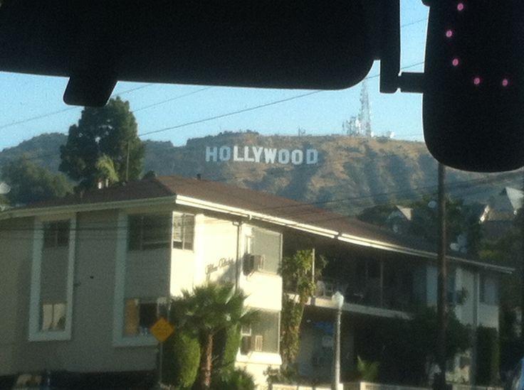 '15 Zondagochtend hike naar Hollywood sign met 10 organizers