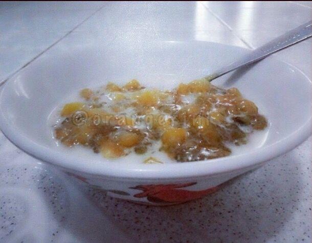 yam porridge aka bubur ubi... homemade indonesian food
