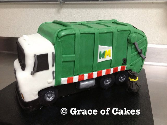 Garbage Truck Birthday Cake Google Search Cams 2nd