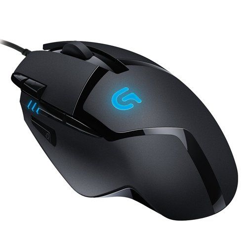 {♥♥♥}Logitech G402 Hyperion Fury FPS Gaming Mouse, Nero/Antracite