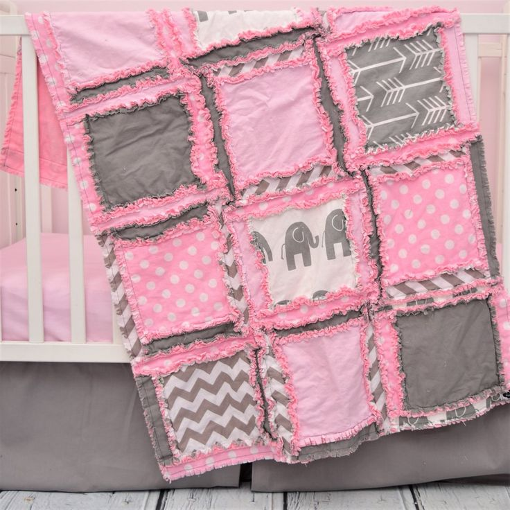 elephant crib bedding baby pink u0026 gray elephant nursery