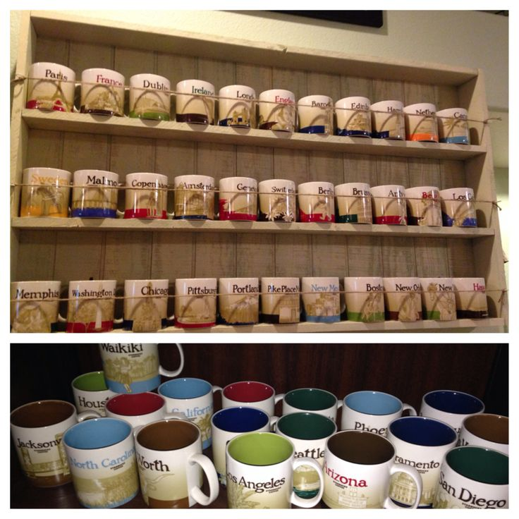 Now That S A Starbucks Mug Collection What S Your