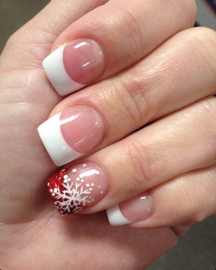 Christmas Design For Short Nails : Best ideas about christmas nail designs on