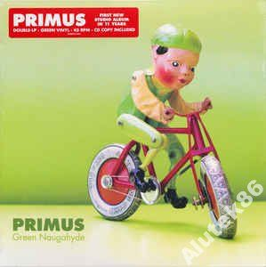 Primus  Green Naugahyde   2 X LP KOLOR+ CD
