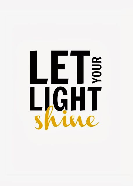 """Crafty Texas Girls: """"Let Your Light Shine""""- 10 Truths from 2013 - beautiful printable!  8x10 and 5x7 sizes available!"""