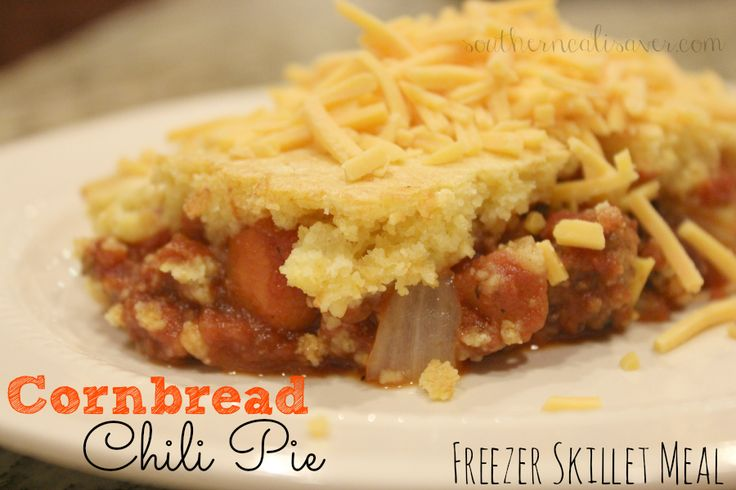 Temps are finally starting to drop so it is time to break out your favorite fall foods that warm you from the inside out. For us that means chili and my family really enjoys a good chili with a cornbread crust topping- everything all in one pan! Quick and easy cooking and clean up …