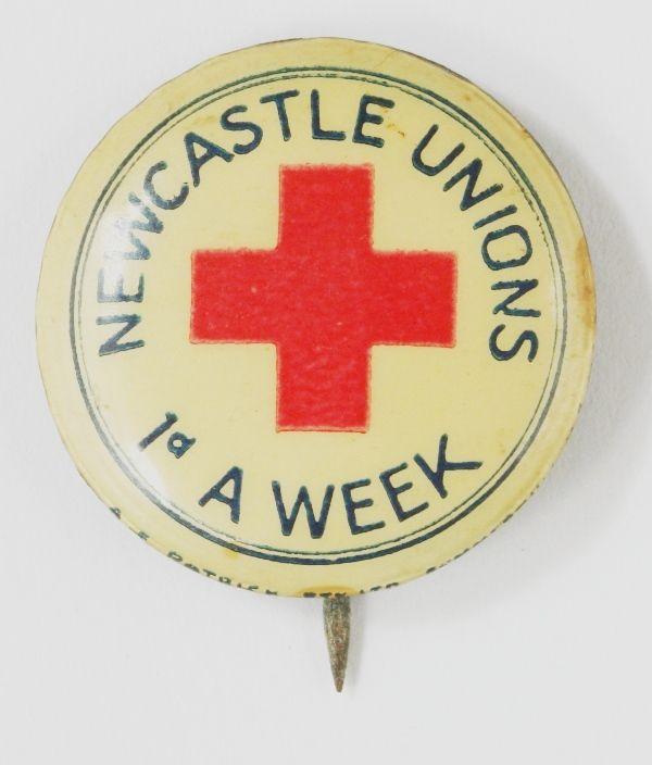 Newcastle Unions Red Cross Penny A Week