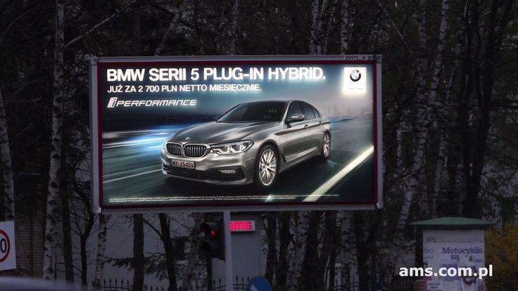 Nowe BMW serii 5 na Dynamic Backlight od AMS (BMW, kwiecień 2017)