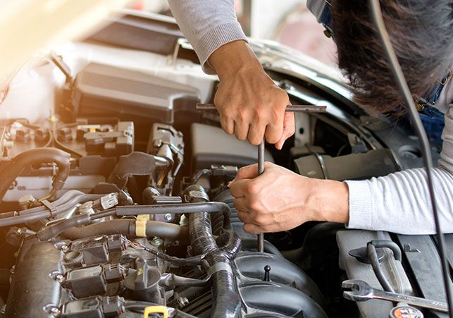 Our Advanced Computerized Systems Draw Information From A Database To Illustrate Your Custom Mechanical Needs Car Mechanic Car Repair Service Car Maintenance