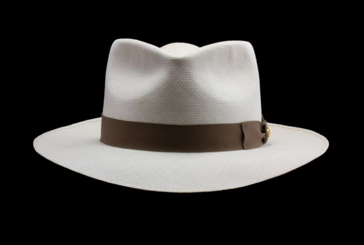 Men's Montecristi Panama Hat Styles — Brent Black Panama Hats.  If you want a Panama hat, this is the right place for you